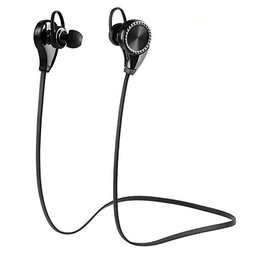 lsoug bluetooth headphones bluetooth earbuds v4 1 wireless sports headphones sweatproof running. Black Bedroom Furniture Sets. Home Design Ideas