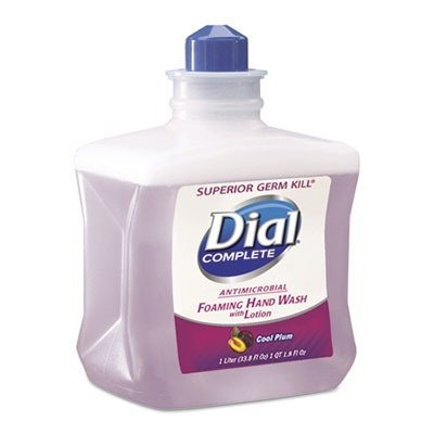 DIA81033 - Foaming Hand Wash Refill, Cool Plum Scent, 1l Bottle by Dial