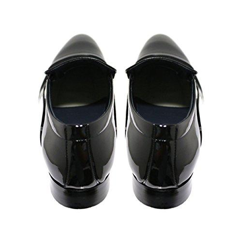 Robelli Herren schwarz Echtleder Schuhe - Seasonal Range LM607-1