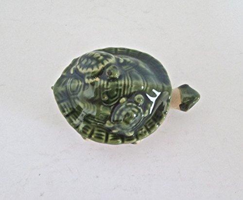 G.I.I Ceramic Bobble Head Turtle Nodding - Ceramic Bobble Head