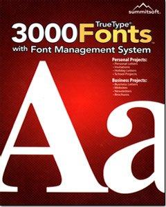 Summitsoft 3000 True Type Fonts by Summitsoft