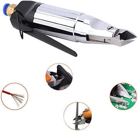 Discount Pneumatic Metal Shears Two Blades Power Scissors Electric Cutting Tool for Copper Iron Wire 0.5Mpa PP2U5Dw