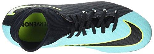 Nike Hypervenom Phelon 3 Dynamic Fit Fg, Zapatillas de Fútbol para Mujer Azul (Light Aqua/white-black-vert Volt)