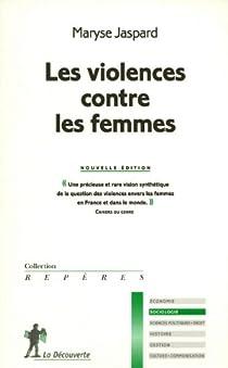Les violences contre les femmes par Jaspard