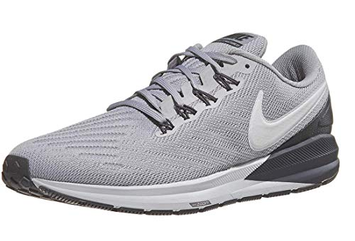 f6441dc597902 Nike Men s Air Zoom Structure 22 Running Shoe Atmosphere Grey Thunder Grey Vast  Grey 9.5 M US