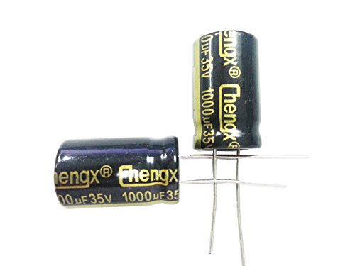 1000uF 35V 13X20 +/-20% -40 to +105C 20PCS Aluminum Electrolytic Capacitors