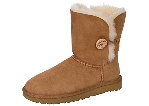 UGG Women's Bailey Button II Winter Boot, Chestnut,, used for sale  Delivered anywhere in USA