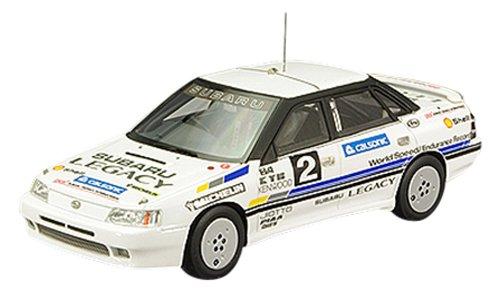 (LA-X 1/43 Subaru Legacy 100,000 km speed record car Car 2 White (japan import))
