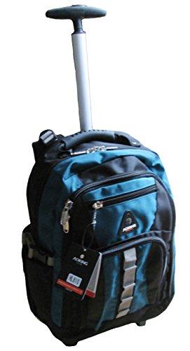 Schultrolley Rucksack Trolley Schulrucksack Ranzen verschiedene Farben (petrol)