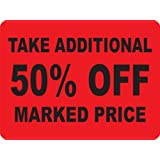 TAKE ADDITIONAL 50% OFF MARKED PRICE Labels. 5,000 Labels. PromoTouch Compatible by Kenco
