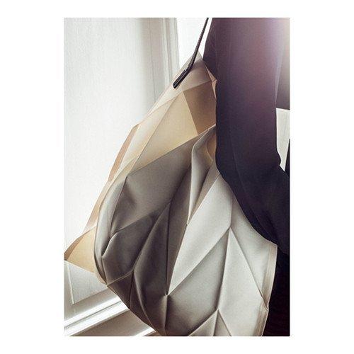 Iittala X Issey Miyake Foldable Tote Bag (Ivory) by Iittala
