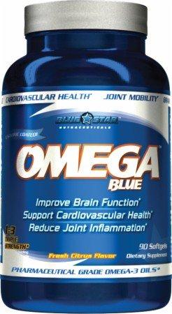 Blue Star Nutraceuticals - Omega-3 Pharmaceutical Grade Omega-3 Oils - 90 Softgels