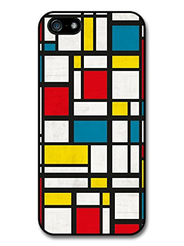Minimalist Painting Colourful Square Designs 70s case for iPhone 5 5S