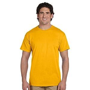 Gildan Men's Heavy Cotton T-Shirt (Black) (2X-Large)