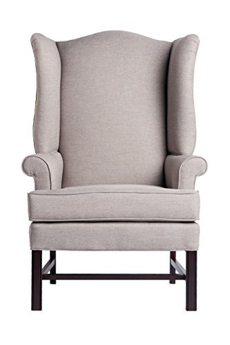 Superieur Chippendale Wing Chair   Jitterbug Linen