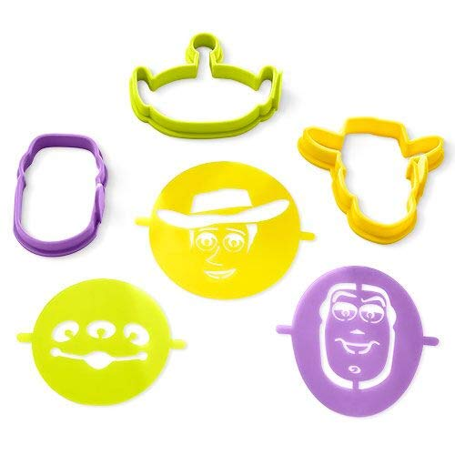 Toy Story 4 Pancake Molds and Stencils