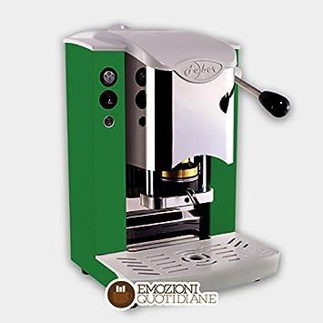 Máquina de café de monodosis de papel Ese 44 mm Faber Slot inoxidable Color verde: Amazon.es: Hogar