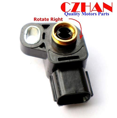 CZHAN SV650 DL650 V-STROM Carburetor sensor for Suzuki 2003-2014 Motorcycle Motor bike Throttle body position sensor OEM#13580-27G21,1358027G21( (Rotate to the Right)