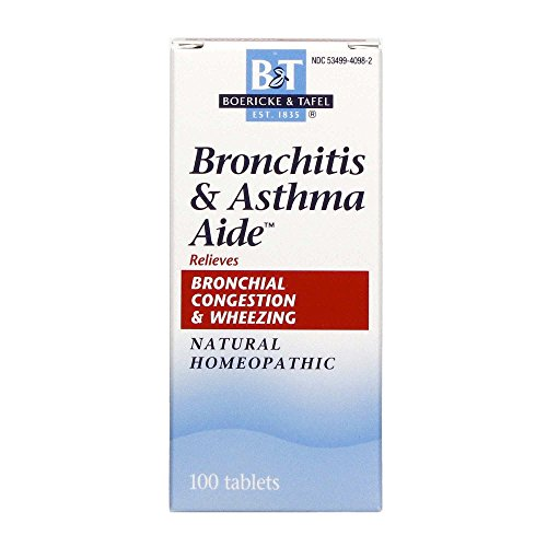 Boericke and Tafel Bronchitis and Asthma Aide, 100 Tablets