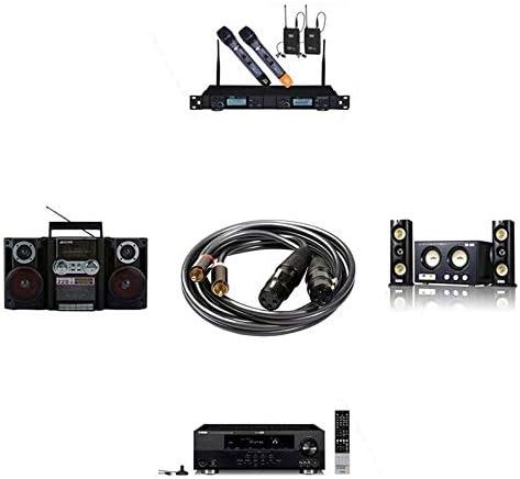 オーディオツール 1.5メートル、シンプルで実用的:2 XLR 3ピンメスオーディオケーブル、長さに366120から15 2 RCAオス