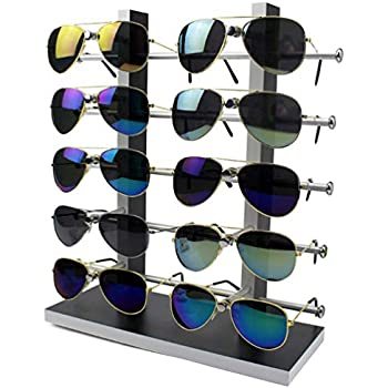 Amazon.com: LORJE 1 X Sunglasses Rack Sunglasses Holder