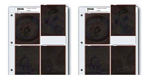 Archival Negative Pages Holds Four 4 x 5 Inches Negatives or Transparencies, Pack of 50 by Omega Brandess Distribution