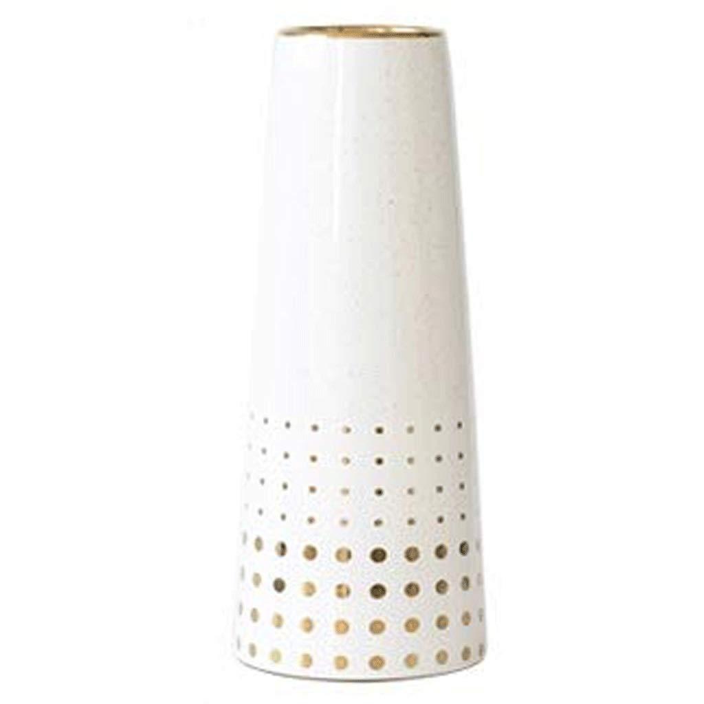 円柱装飾花瓶 花瓶AXZHYZ19060805セラミックヨーロッパ現代のリビングルームテーブルドライフラワーフラワーアレンジメント装飾品 写真円柱装飾花瓶ライフ花瓶フラワーショップブーケボックス (Size : 6.4x10x25cm) B07SVPGFMG  6.4x10x25cm