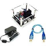 セットNo.5 USBアイソレーター【基板完成品】+対応アクリルベース+USBケーブルセット+電源セット WP-904UIS-ADP