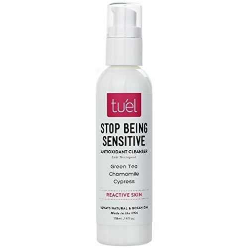 Amazon.com: Tuel Skincare Stop Being Sensitive Cleanser, 4 Ounce by TueL: Health & Personal Care