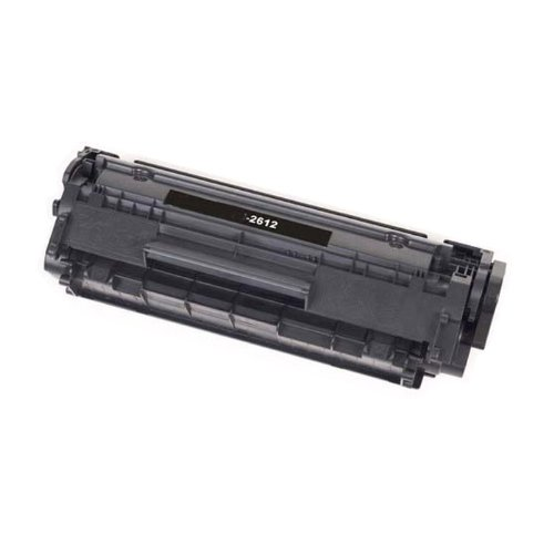 Shop At 247 ® Compatible Toner Cartridge Replacement for HP Q2612A (Black), Office Central