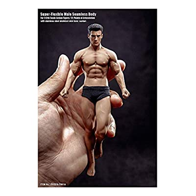 3T6B TBLeague 1/12 Male Body 6in Action Figure F Mezco SHFML( PH2020-TM01A): Toys & Games
