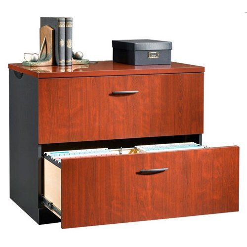 - Sauder 412758 Lateral File, Classic Cherry Finish