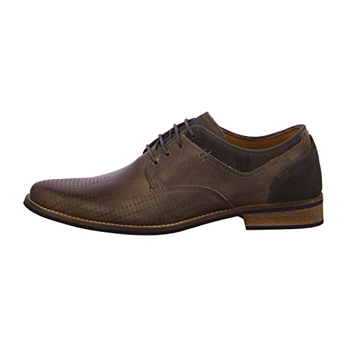 BULLBOXER 571K25935ADTGY - Zapatos de cordones de Piel para hombre Marrón - dtgy