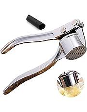 Garlic Press, knoflookpers, roestvrij staal, praktische knoflookpers, vaatwasmachinebestendig, robuust