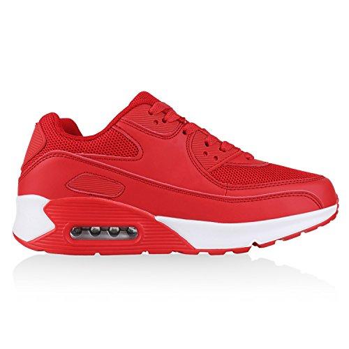 Gr Angenehmer Knallige Tragekomfort Sportschuhe Eyecatcher Damen Herren 36 45 Neon Sneakers Alltags Rot Sportlicher Auffällige Unisex Look Japado Rosso 6qwxwd