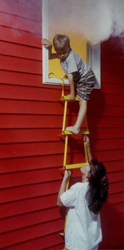 3 Story Height X-IT Emergency Fire Escape Ladder
