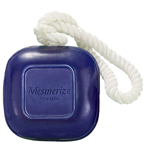 Avon Mesmerize For Men, Soap On a Rope. (Avon Wild Country Soap On A Rope)