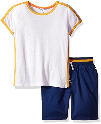 Splendid Oatmeal (Splendid Boys' Sport Short Set, Oatmeal, 4/5)