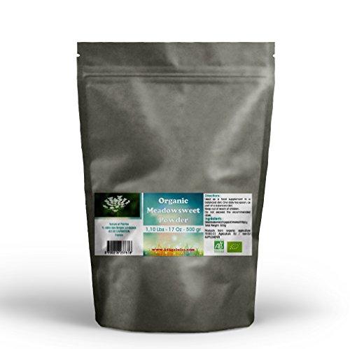 Aerial Parts - Organic Meadowsweet Aerial Parts Powder - 500 g - 1.10 Lbs 17.6 Oz
