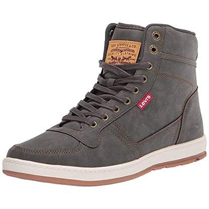 Levi's Mens Stanton Waxed UL NB Fashion Hightop Sneaker Shoe 1