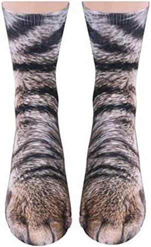 Animal Socks Novelty Socks Crazy Tiger product image