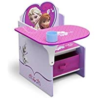 Delta Children Disney Frozen CHAIR DESK, Girls Storage Bin KIDS FURNITURE
