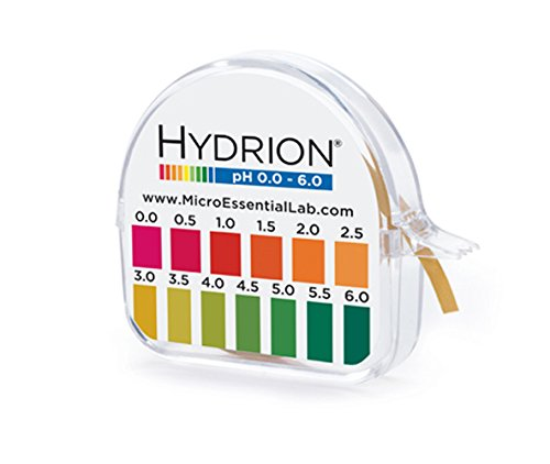 Hydrion S/r Dispenser 0.0-6.0 Ph Range 96 - 15 Ft Roll w/...