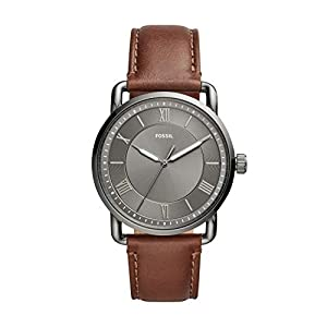 Fossil Analog Grey Dial Men's Watch-FS5664