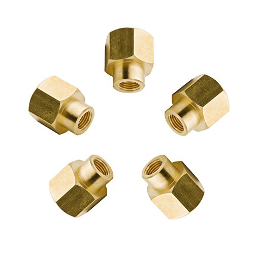 - Vis Reducing Brass Pipe Fitting, Reducer Hex Head Coupling, 1/4