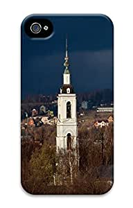 iPhone 4S CaseChurch In Dmitrov 3D Custom iPhone 4/4S Case Cover