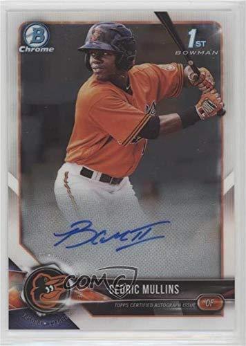 Cedric Mullins (Baseball Card) 2018 Bowman - Chrome Prospect Autographs #CPA-CM