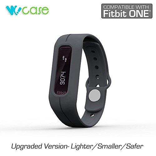 WoCase Wristband for Xiaomi MiBand Activity and Sleep Tracker Band Bracelet (Dark Grey, One Size, Fits Most Wrist) (Best Wrist Sleep Tracker)