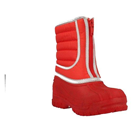Clarks Mädchen Seasonal Snow Trail Synthetik Gummistiefel in rot Rot