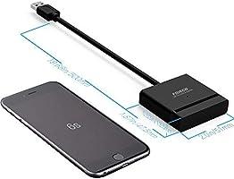 Fideco - Adaptador de USB 3.0 a SATA para discos duros SSD de 2,5 ...